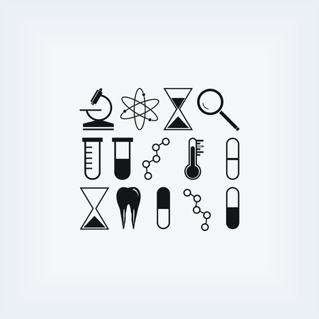 chemically: science icon vector, flat design best vector icon