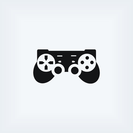 competitions: Joystick icon . Vector illustration, flat design best vector icon