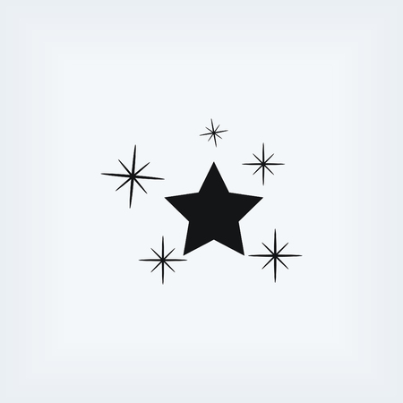 walk of fame: Star vector icon, flat design best vector icon
