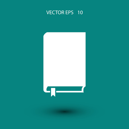 best book: Book icon vector, flat design best vector icon