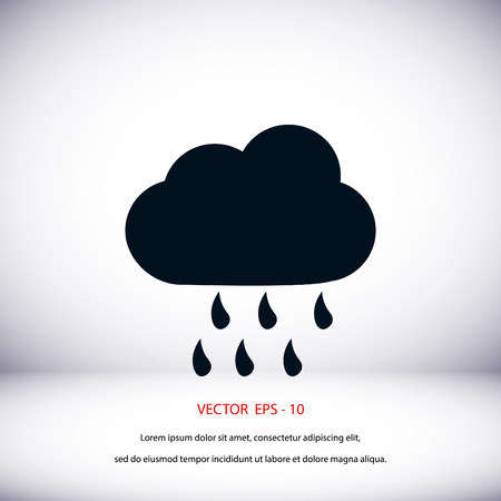 weather icon vector, flat design best vector icon