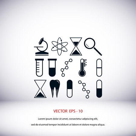 neutrons: science icon vector, flat design best vector icon