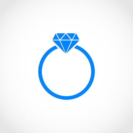 ring icon vector, flat design best vector icon
