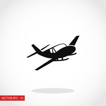 planos electricos: icono de un avión, diseño plano el mejor icono del vector