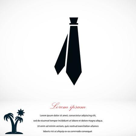 ネクタイのアイコン ベクトル、フラットなデザイン最高のベクトルのアイコン 写真素材 - 78520231