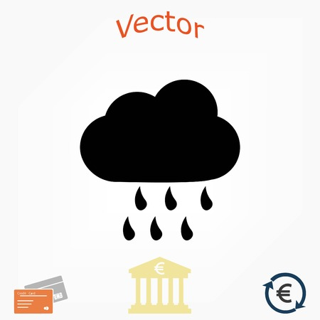weather icon vector, flat design best vector icon Illustration