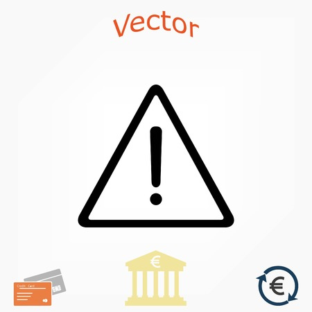obey: warning roadsign vector icon, flat design best vector icon