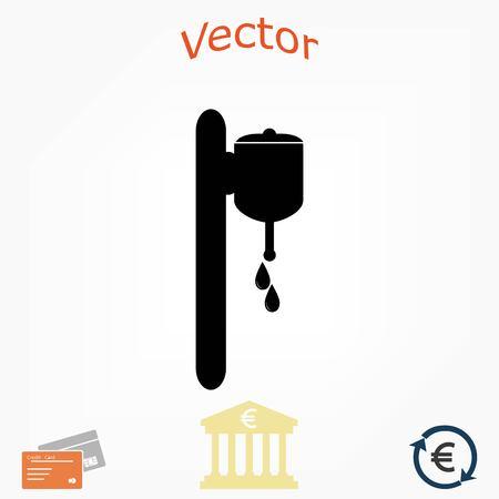 Whash Symbol Vektor, flaches Design am besten Vektor-Symbol Standard-Bild - 82949354