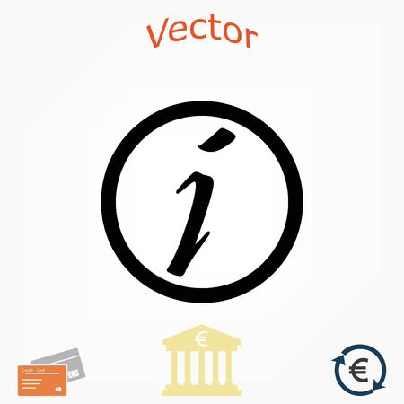 Information sign vector icon, flat design best vector icon 向量圖像