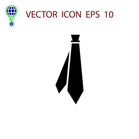 ネクタイのアイコン ベクトル、フラットなデザイン最高のベクトルのアイコン 写真素材 - 84511461