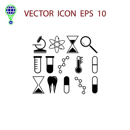 science icon vector, flat design best vector icon