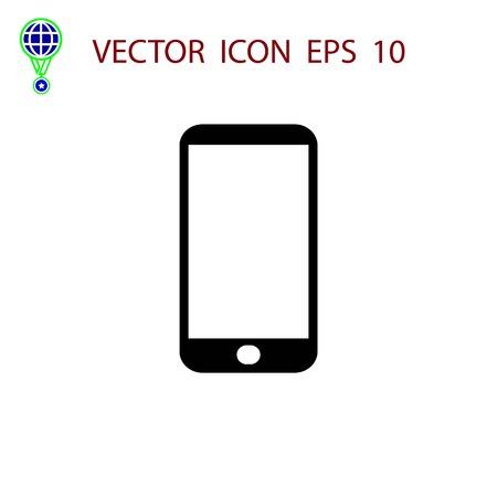 smart phone icon, flat design best vector icon