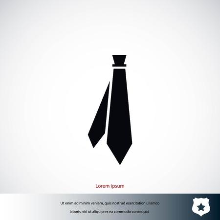 ネクタイのアイコン ベクトル、フラットなデザイン最高のベクトルのアイコン 写真素材 - 85719130