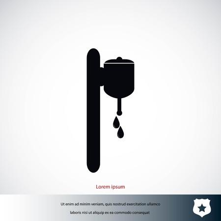 Ein Wasch-Symbol Vektor, flaches Design beste Vektor-Symbol Standard-Bild - 85718736