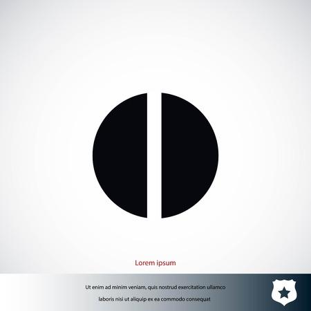 pill vector icon, flat design best vector icon