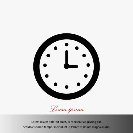 Wristwatch icon vector, flat design best vector icon illustration.