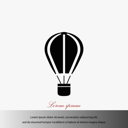 Parachute icon vector, flat design best vector icon illustration.