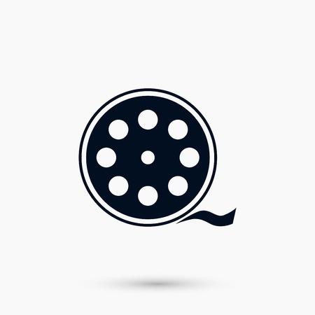 Videocamera Single icon, flat design best vector icon Ilustração
