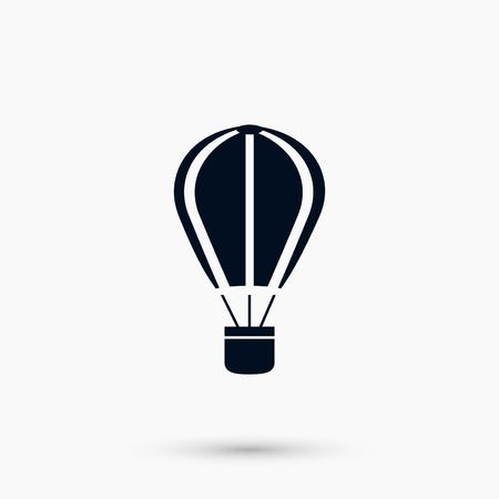 A parachute icon vector, flat design best vector icon Illustration