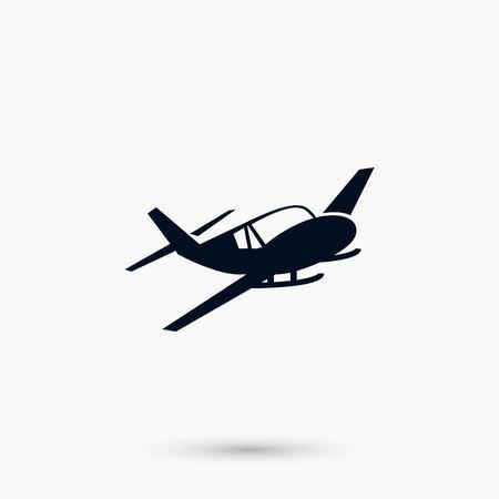 Airplane icon, flat design best vector icon