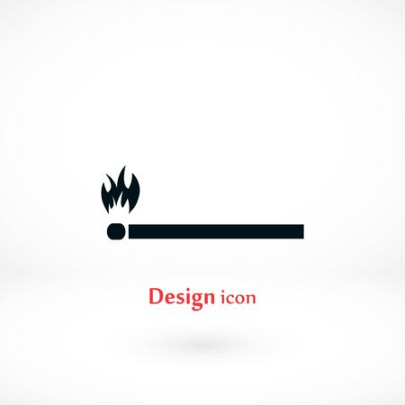 Match icon vector, flat design best vector icon