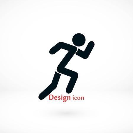 Summer sports icon, flat design best vector icon