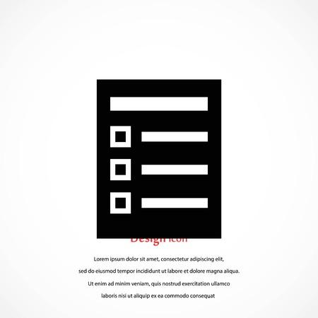 paper icon vector, flat design best vector icon