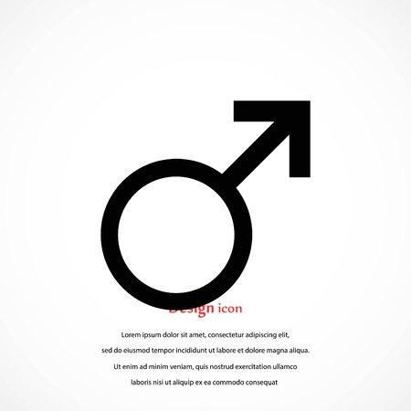 planet symbol icon, flat design best vector icon Vettoriali