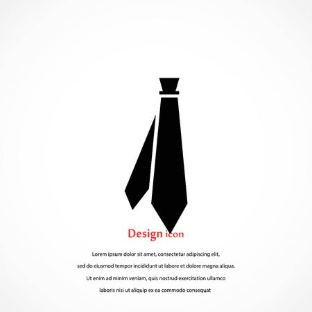 Tie icon vector, flat design best vector icon 写真素材 - 97907897
