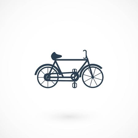 bicycle vector icon, flat design best vector icon 向量圖像