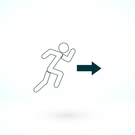 man icon vector, flat design best vector icon