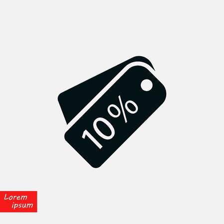 Price tag icon.vector, flat design best vector icon  イラスト・ベクター素材