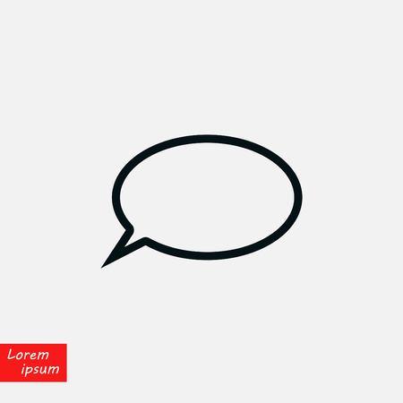 Question mark icon, flat design best vector icon Illustration