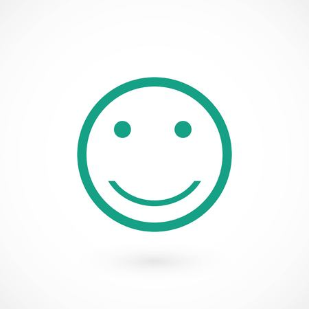 smiles icon vector, flat design best vector icon 向量圖像