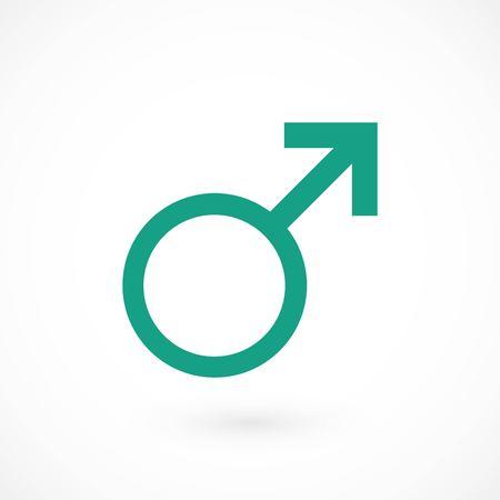 planet symbol icon, flat design best vector icon Illustration