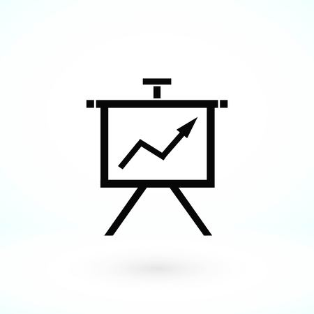Finance Icon vector, flat design best vector icon Illustration