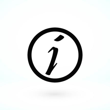 Information sign vector icon, flat design best vector icon 版權商用圖片 - 102481025