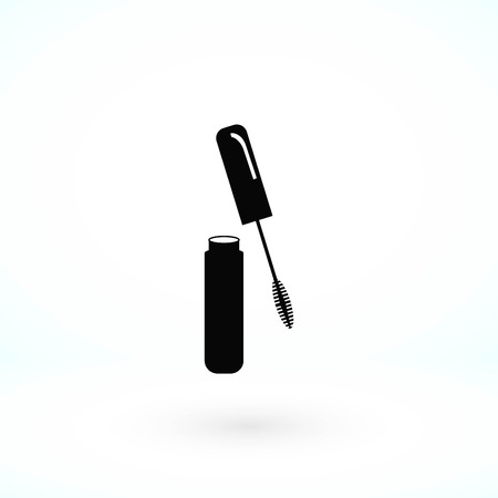 Mascara vector icon, flat design best vector icon Illusztráció