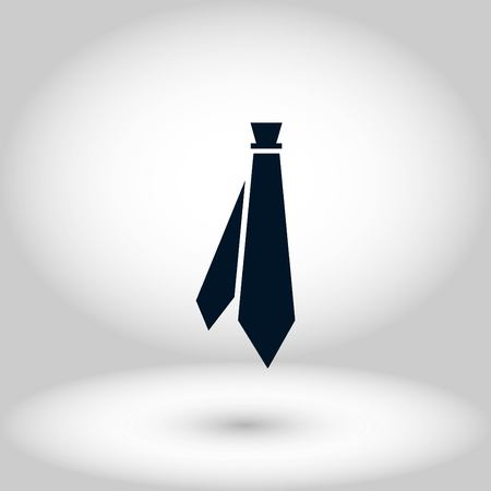 Tie icon vector, flat design best vector icon 写真素材 - 102593093