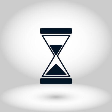 hourglass icon vector, flat design best vector icon