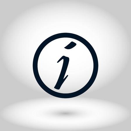 Information sign vector icon, flat design best vector icon 版權商用圖片 - 102652280