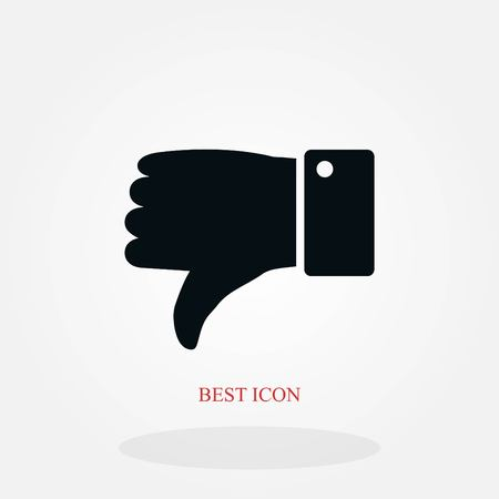 hand. good vector, flat design best vector icon Illustration