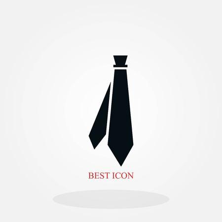 Tie icon vector, flat design best vector icon 写真素材 - 102801970