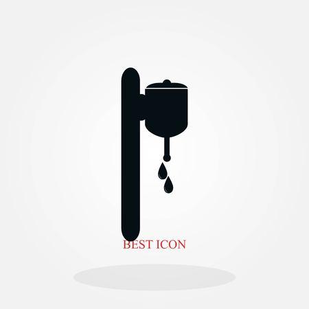 whash icon vector, flat design best vector icon Standard-Bild - 104723177