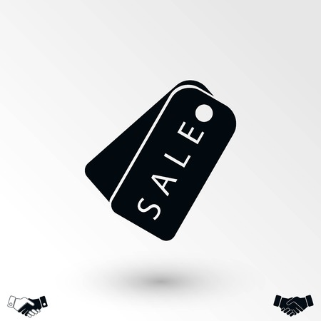 sale tag icon,vector, flat design best vector icon