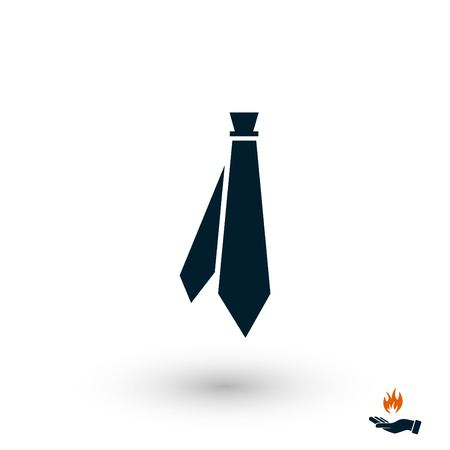 Tie icon vector, flat design best vector icon 写真素材 - 104046547