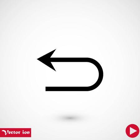 Arrov Vector Icon, flat design best vector icon
