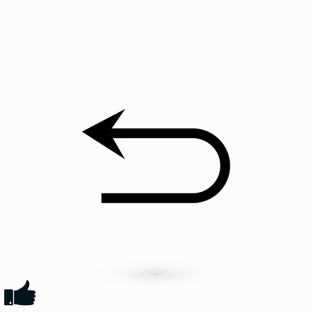 Arrov Vector Icon, flat design best vector icon