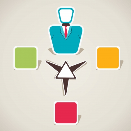 creative info-graphics vector Illustration