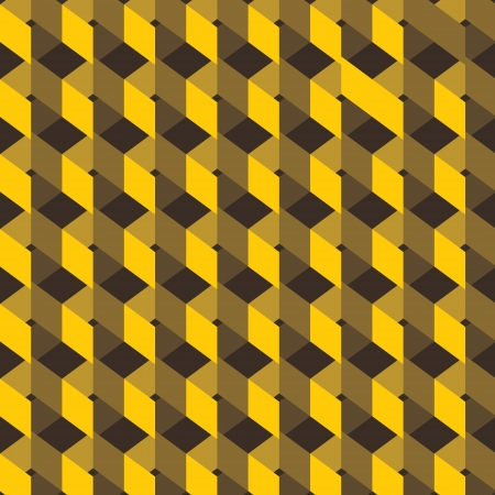 yellow design pattern background vector Vector